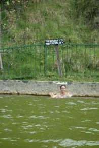 L'eau à 38°C des sources thermales de Coconuco